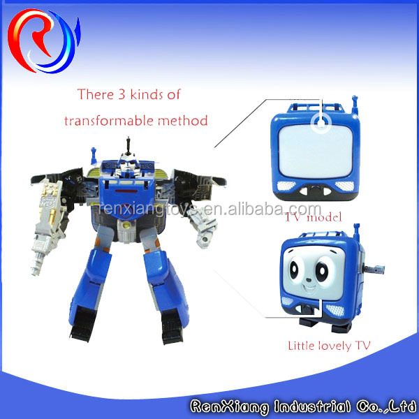 new product plastic action figure transformer toy for kids