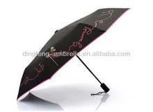 Totes Port Lady's Golf Sized Automatic Compact Umbrella