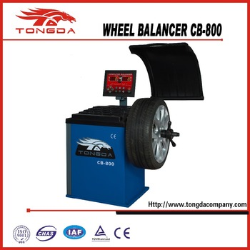 2017 TONGDA NEW DESIGN CAR WHEEL BALANCER CB-800