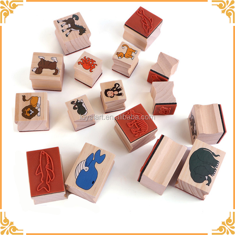 Hot Selling Customized Wooden Stamps