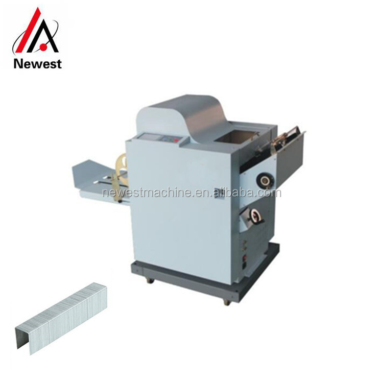 Commercial Use Paper Staple And Folding Machine,Book