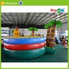 Air jungle gym bouncer inflatable bounce castle house amusement park with slide