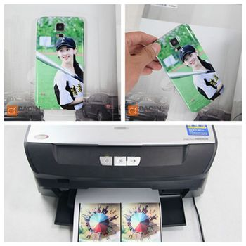 Daqin vinyl phone sticker printer and cutter for small business in india