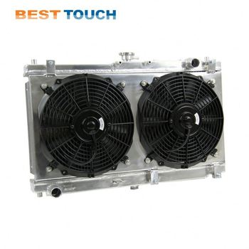 6 month warranty bus all aluminum radiator for jzx90
