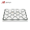 Wholesale good quality leather cover ring jewelry display tray