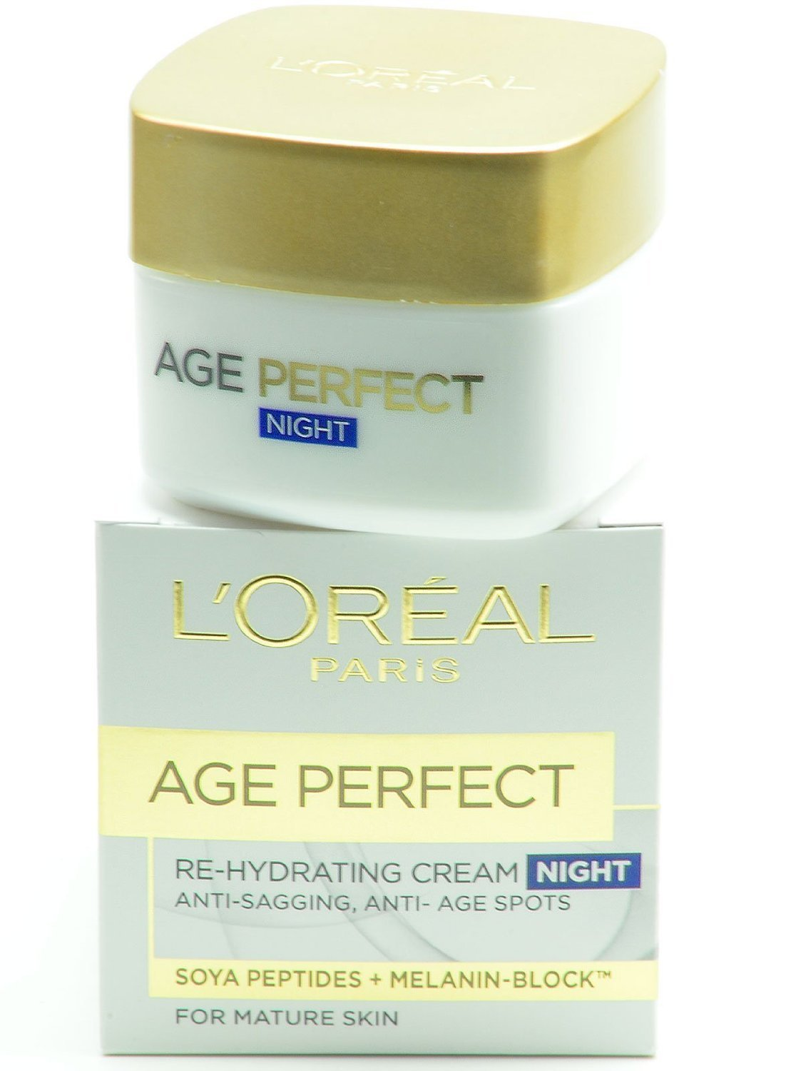 Loreal Age Perfect Re-Hydrating Night Cream for Mature Skin 50 mL