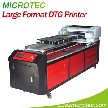 Large format digital t shirt printing machine garment for T shirt printing machines prices