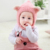 High quality Soft Winter Warm Baby Knitted Earflap Hat