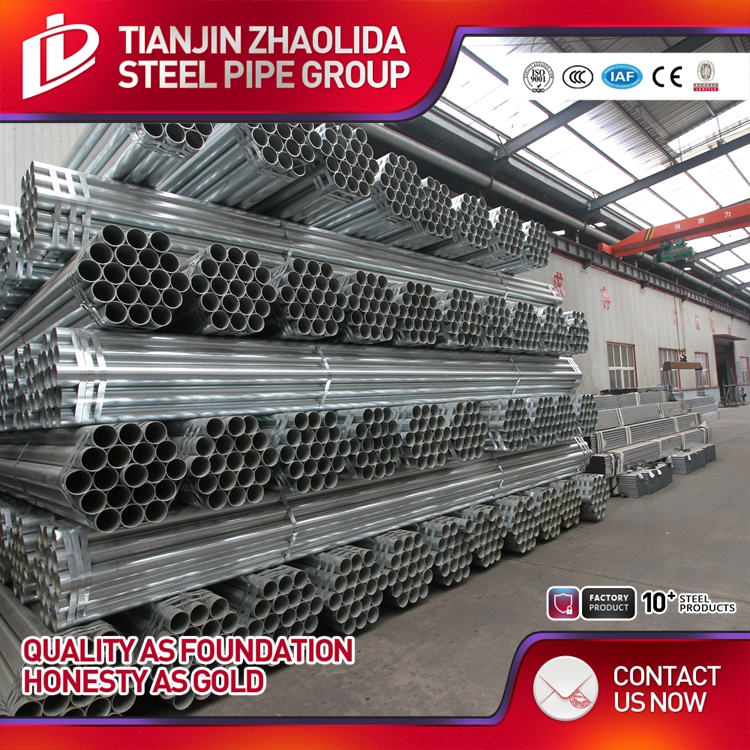astm a53 gr.b galvanized iron pipe price factory