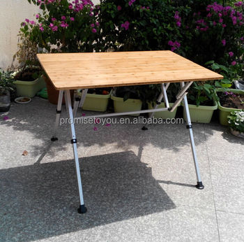 Large Size Bamboo Table/long Bamboo Camping Table/bamboo Folding Table  Furniture Tables Outdoor