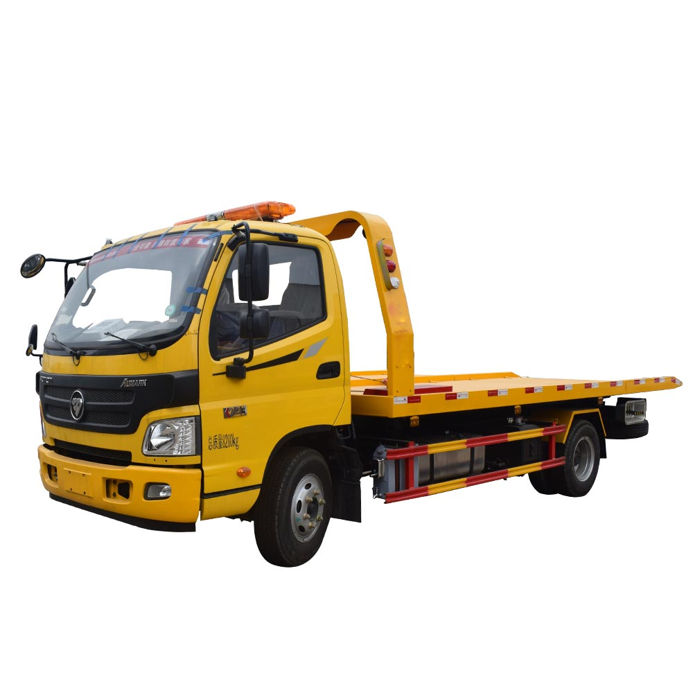 Foton Aumark Flatbed Tow Truck With Winch for Sale in Philippines