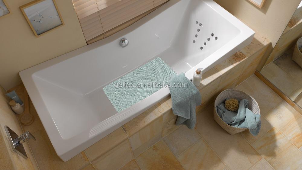 tappeto da bagno in vasca doccia circolare stuoia vasca su misura stuoie tappetino