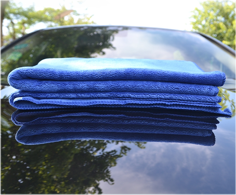 2019 hot sale microfiber towel car cleaning  super soft microfiber car towel