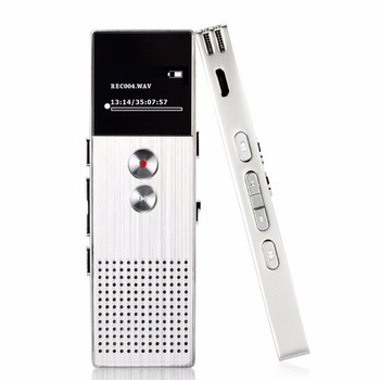 High sound quality dual micro USB 8GB flash drive digital voice recorder mp3 player with noise reduction