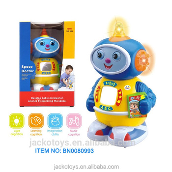 Icti Factory Funny Space Doctor Robot Baby Electric Educational