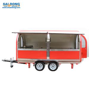 Commercial practical mobile food van/coffee vending truck