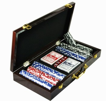 300pcs Poker Chip Set