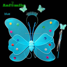 cheap children multi color fairy wings butterfly double wings costume dresses