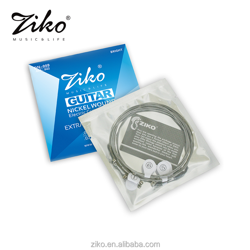 wholesale high level nickel electric guitar oem strings made in china