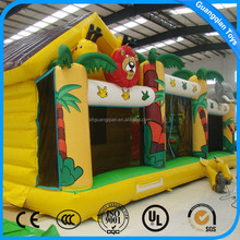 Guangqian EN14960 Certificate Inflatable Games Kids Obstacle Course Equipment