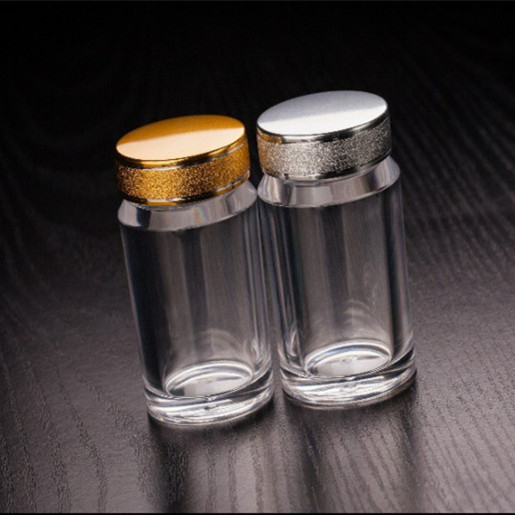 80ml Food Grade Clear Plastic Tablet Pill Medicine Container Bottles for sale