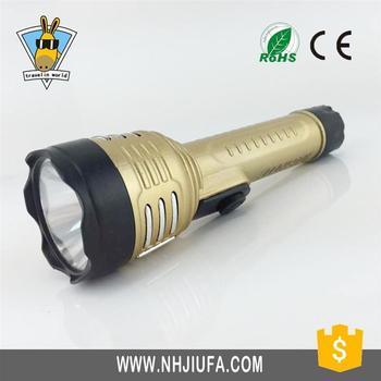 High Power Led Torch Light Dry Battery Led Flashlight Plastic Mini ...