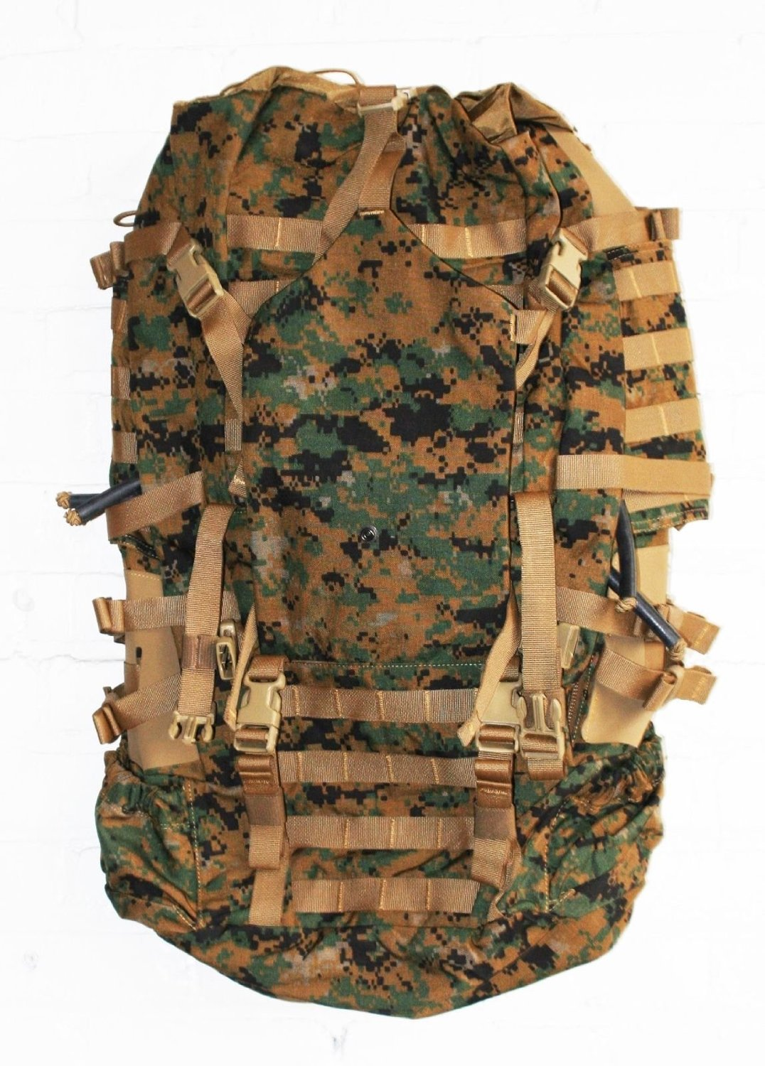 ed18b0becfb Get Quotations · USMC Field Pack, MARPAT Main Pack, Woodland Digital  Camouflage, Spare Part, Component