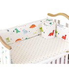 Super cute cartoon baby crib bedding sets bumper for crib
