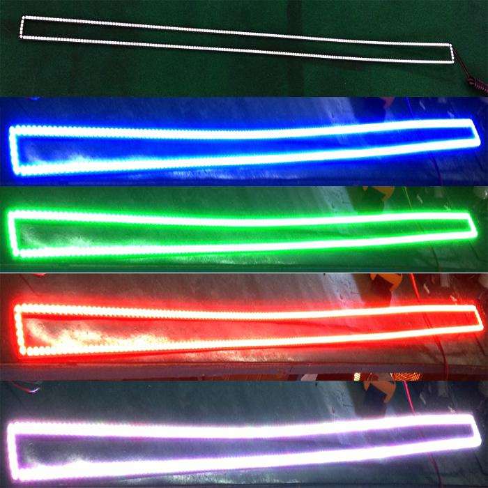 Dc12v car rgb led bar light halo with bluetooth remotes buy rgb dc12v car rgb led bar light halo with bluetooth remotes mozeypictures Image collections