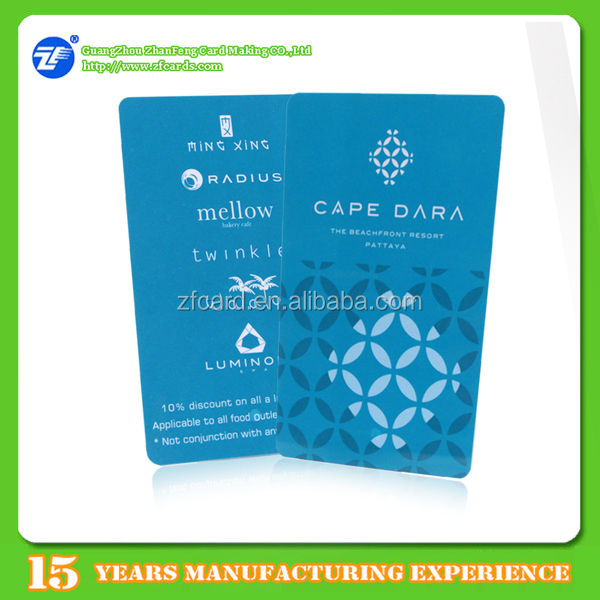 Custom printing MIFARE(R) DESFire(R) EV1 2K 13.56Mhz RFID smart cards for car parking