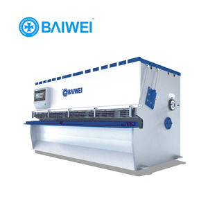 CNC hydraulic press brake tooling machines to cut and bend iron