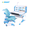 Istudy kids study funiture children ergonomic learning table and chair