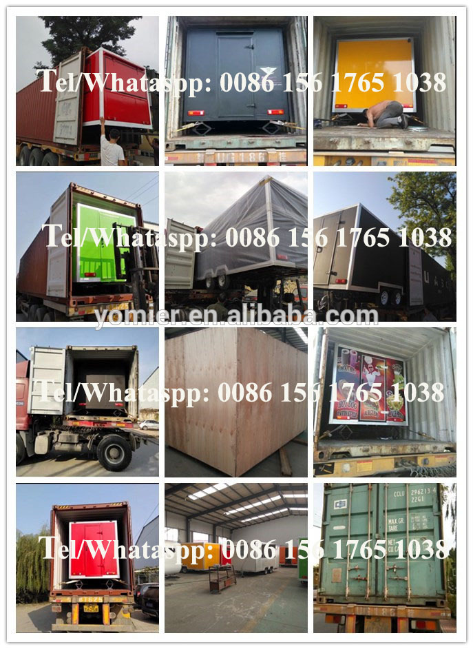 Custom Made Food Catering Truck/Mobiele Bar Trailers