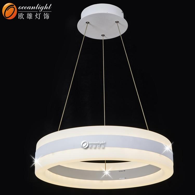 Moderna l mpara de cristal led luminaria de suspensi n for Decoracion led hogar