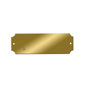Blank Engraving Brass Plates
