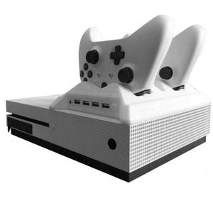Game Console Cooling Fan Charging Station For Xbox One S Wireless Controller