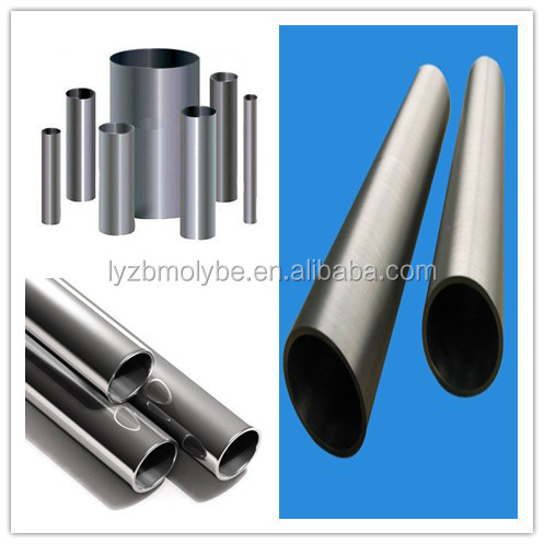 Molybdenum pipes