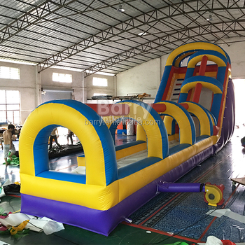 China Water Slide Inflatable Slip N Slide Combo For Sale