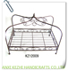 KZ12009 Wrought Iron Princess Dog Bed Cat Bed Metal Frame Pet Bed