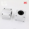 Aluminum Housings with Linear Bearings Assembly Open Kind Pillow Blocks SC16UU SCS16UU