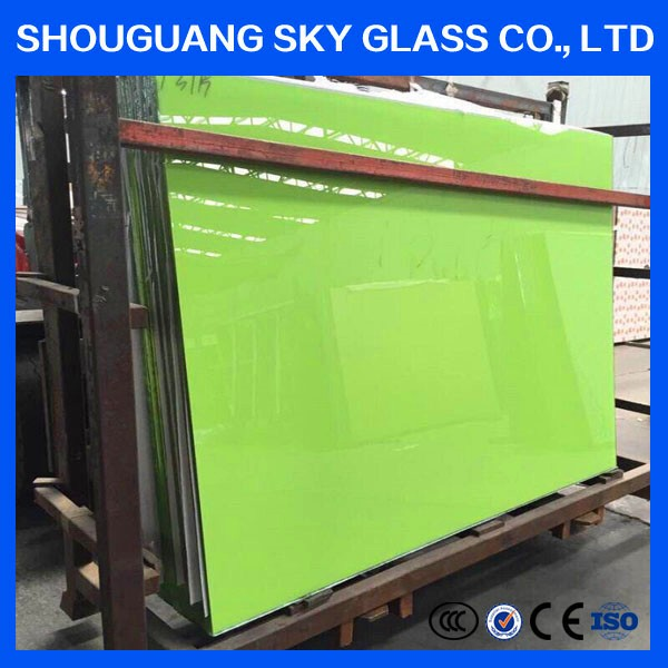 Low price 3mm 4mm 5mm 6mm 8mm 10mm coloured painted float glass