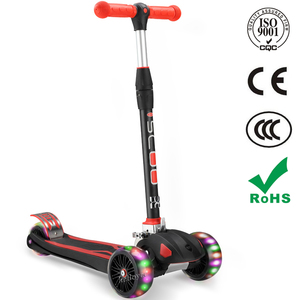 2018 new 3 wheel Mini Folding Kids Kick Scooter Adjustable Children Foot Scooter scooter High Quality