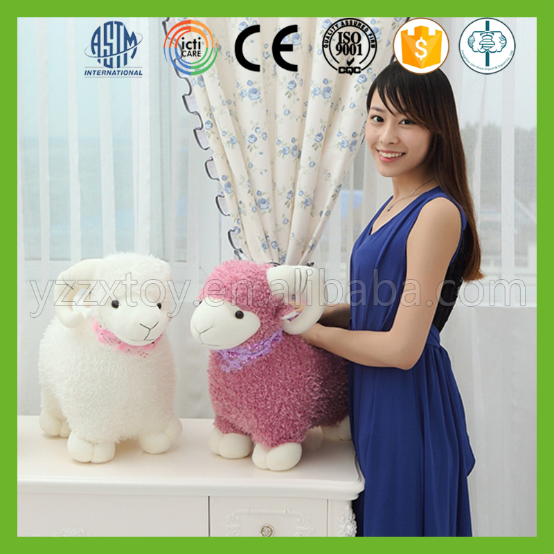 Wholesale popular elegant soft high quality stuffed baby lambs plush for baby