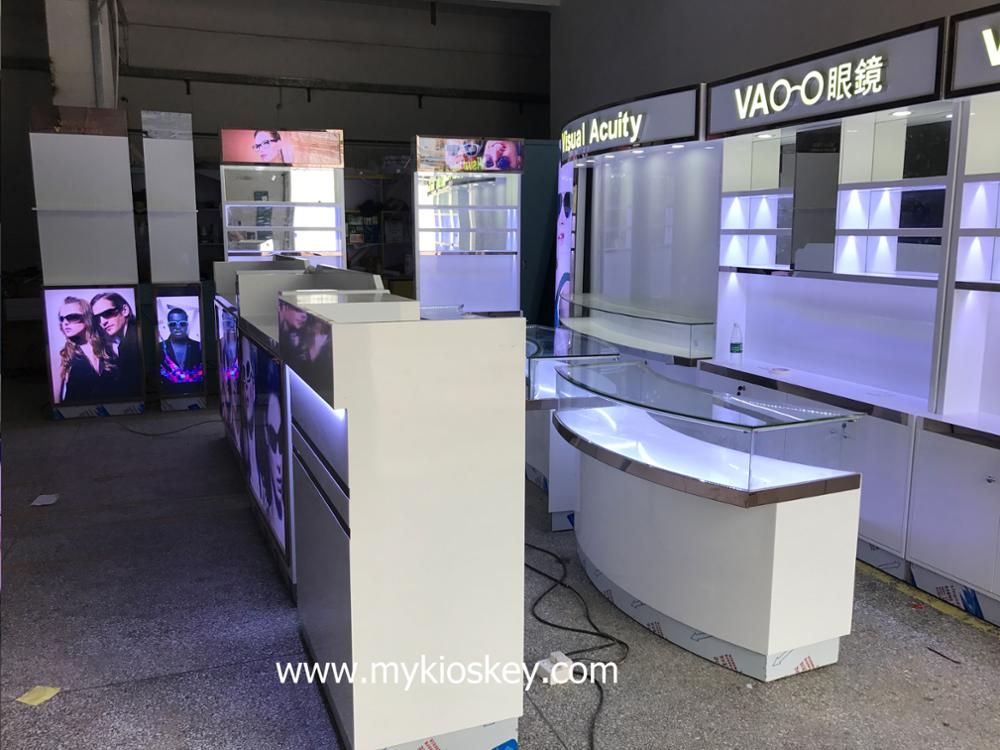 Fashion Retail Eyewear Store Eyeglasses Boutique Store Fixture Optical Shop Interior Design