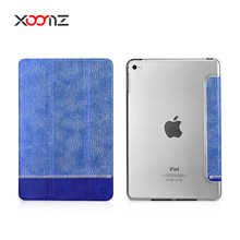 XOOMZ Splicing Shining PU Leather Folio Case for iPad Mini 4