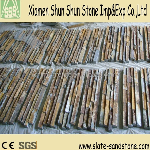 Natural wall decorative mdf stone panels with competive price