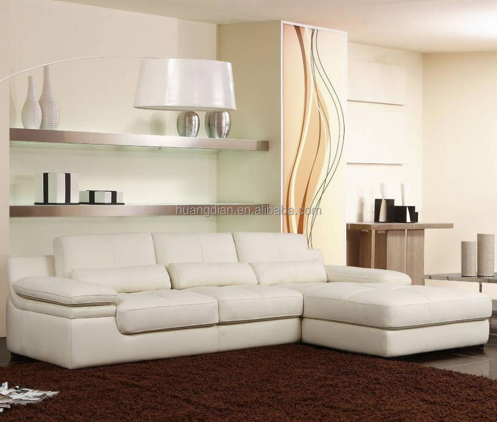 Living Room Furniture Modern Low Back L Shaped Corner Sofa Set Designs Modular Sectional