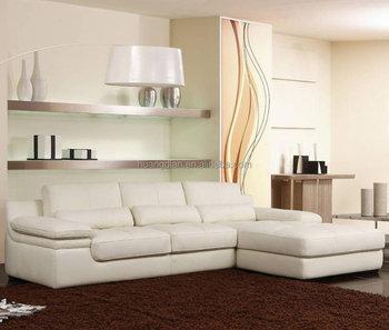Living Room Furniture Modern Low Back L Shaped Corner Sofa Set ...