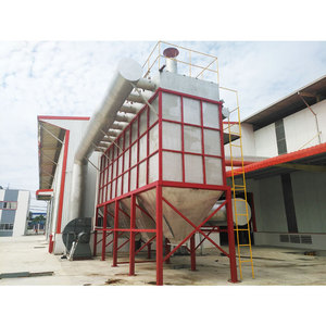 MC-30 Dust Extraction System With Pulse Jet Bag Filter