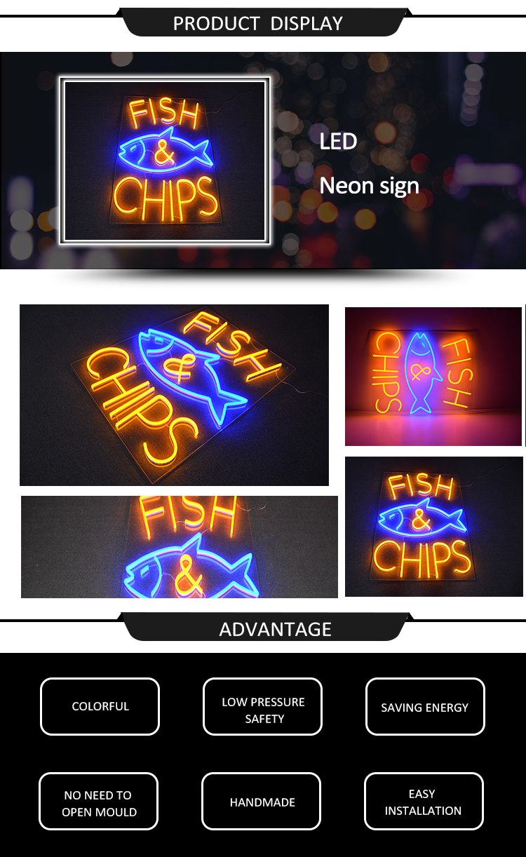 Lighting Led Letters Wall Mounted Led Neon Sign